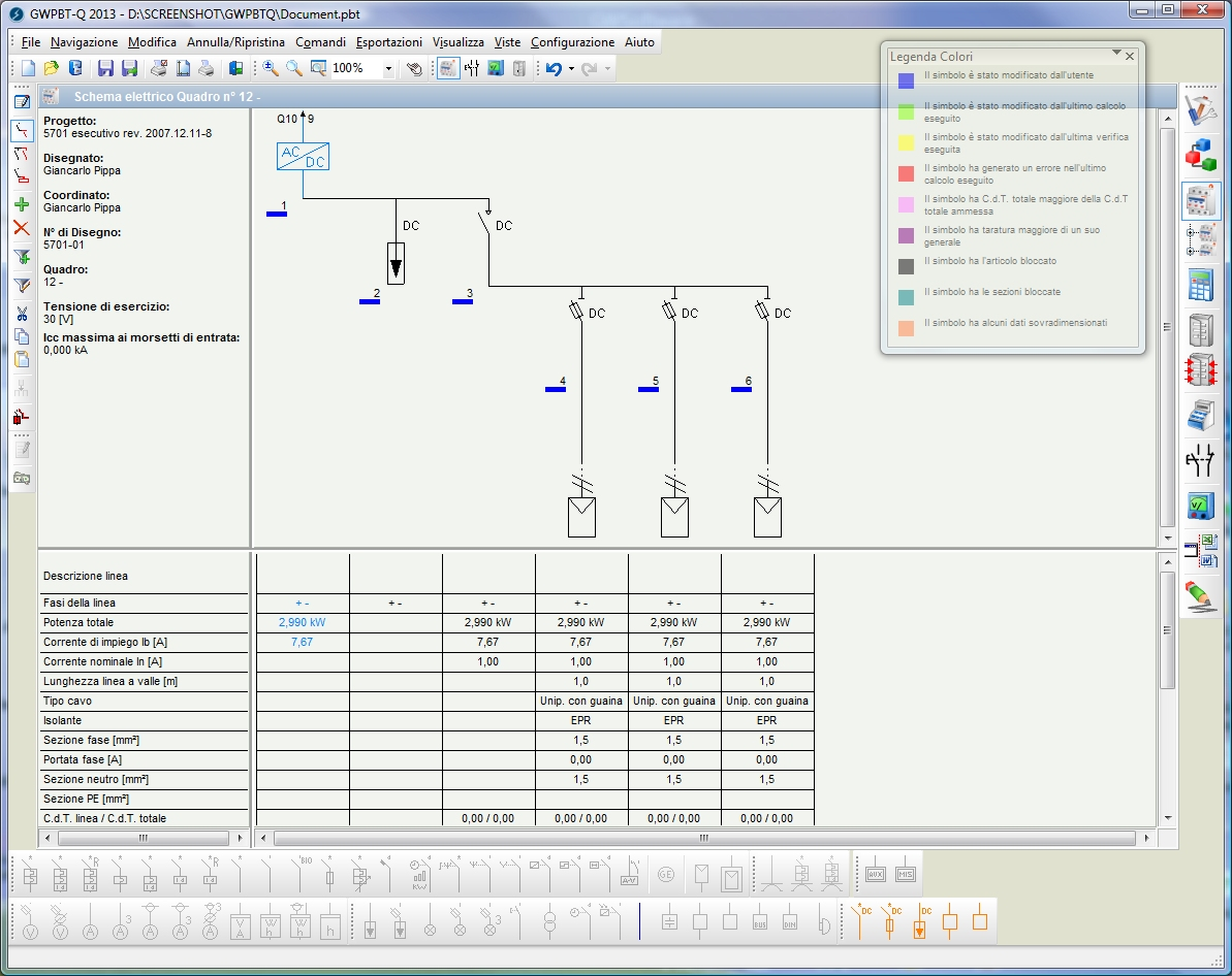 Software free quadri elettrici progettazione impianti for Teleruttore schema