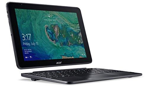 Acer One 10 S1003-17WM Notebook 2 in 1 con Processore Intel Atom Quad Core x5-Z8350, RAM da 4GB DDR3, 64 GB eMMC, Display 10.1″ IPS HD LED LCD, Scheda Grafica Intel HD, Windows 10 Home, Nero
