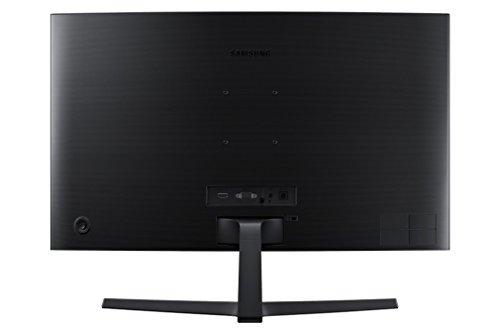 "Samsung C27F396 Monitor Curvo per PC, 27"" Full HD, 1920 x 1080, 60 Hz, 4 ms, Freesync, D-sub, HDMI, Nero"