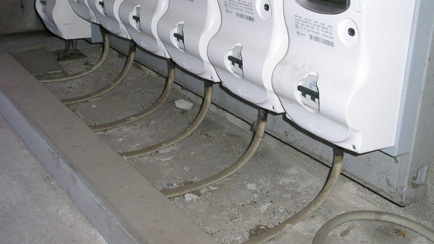 Montanti diverse per utenze diverse nella stessa tubazione