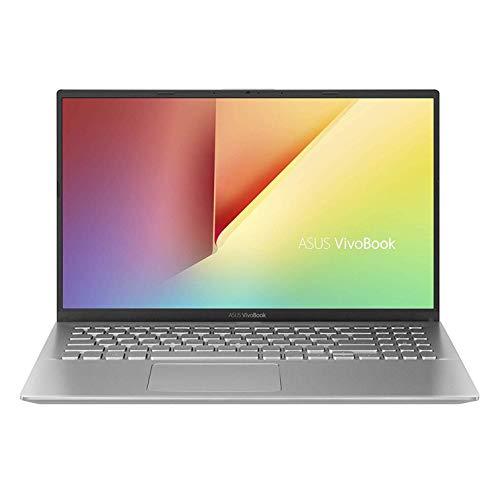 ASUS Vivobook A512UF, Notebook con Monitor 15,6″ FHD, No Glare, Intel Core i7-8550U, RAM 8 GB DDR4, SSD da 512GB G3x2, Scheda Grafica NVIDIA MX130 da 2GB, Windows 10, Argento