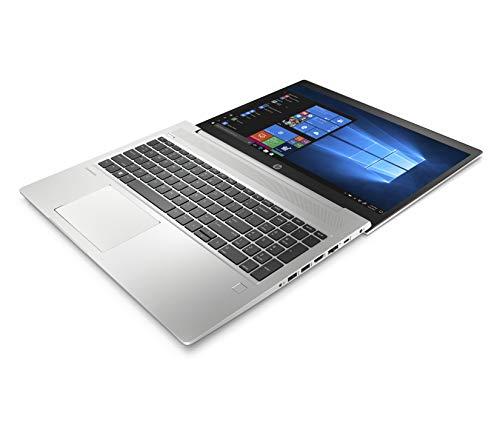 HP-PC ProBook 450 G6 Notebook, Intel Core i7-8565U, RAM 16 GB, SSD 128 GB, SATA 1 TB, NVIDIA GeForce MX130, Windows 10 Pro, Schermo 15.6″ FHD IPS Antiriflesso, Lettore Impronte Digitali, Argento