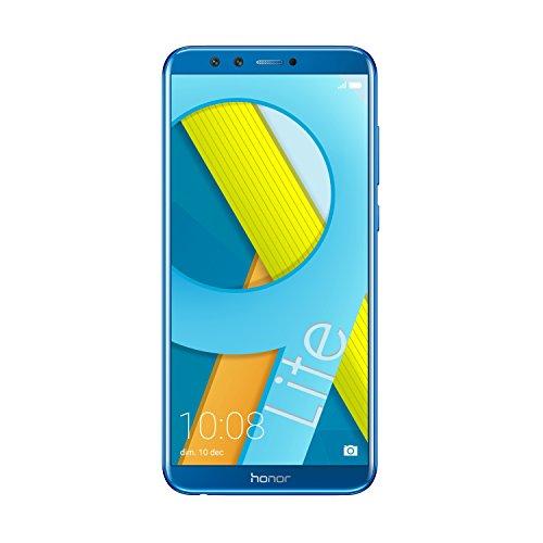 Honor 9 Lite Smartphone, Schermo 5.65″ FHD+, 3 GB RAM, Doppia Fotocamera 13 e 2 MP, 32 GB, Blu [Italia]