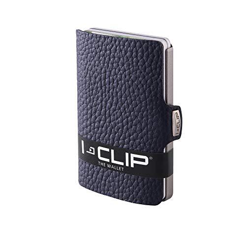 I-CLIP Original Silver Pure Blue, Portafoglio, Wallet
