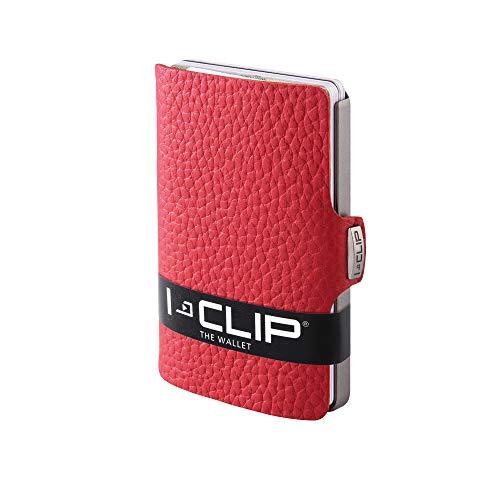 I-CLIP Original Silver Pure Red, Portafoglio, Wallet