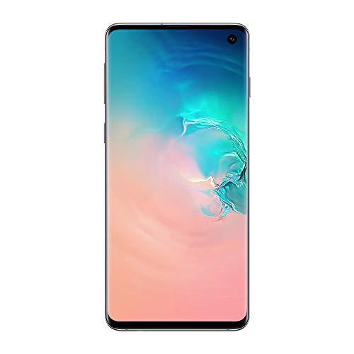 Samsung Galaxy S10 Smartphone, Display 6.1″ Dynamic AMOLED, 128 GB Espandibili, RAM 8 GB, Batteria 3400 mAh, 4G, Dual SIM, Android 9 Pie, [Versione Italiana], Prism Black