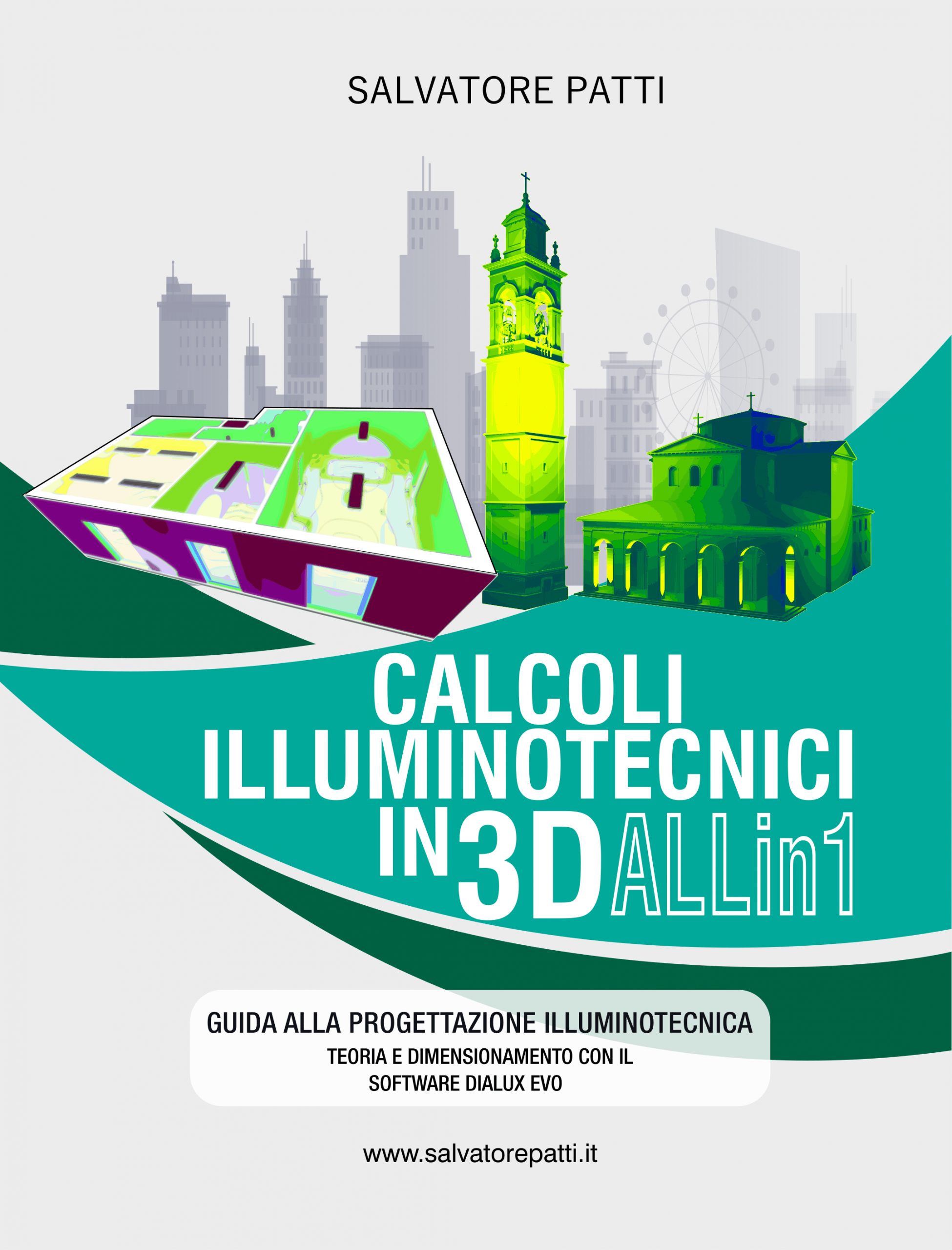 calcoli illuminotecnici in 3D ALLin1